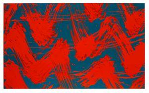 Intuitive rythm by Fabienne Verdier contemporary artwork