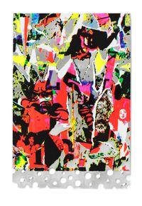 Silver Memory by Shinro Ohtake contemporary artwork mixed media