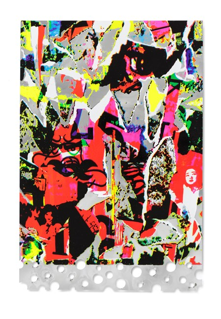 Silver Memory by Shinro Ohtake contemporary artwork