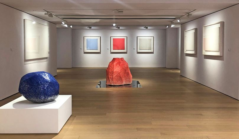 Exhibition view: Zhang Yu Fingerprints, Boundaries of Time and Truth 指印:時間與真實的邊界, Alisan Fine Arts, Central (12 September–9 November 2019). Courtesy Alisan Fine Arts.