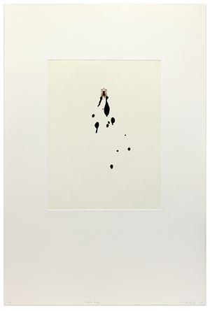 Black Drips by Liliana Porter contemporary artwork