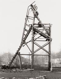 Reed & Herb Coal Co., Joliett, Schuylkill County, USA by Bernd & Hilla Becher contemporary artwork print