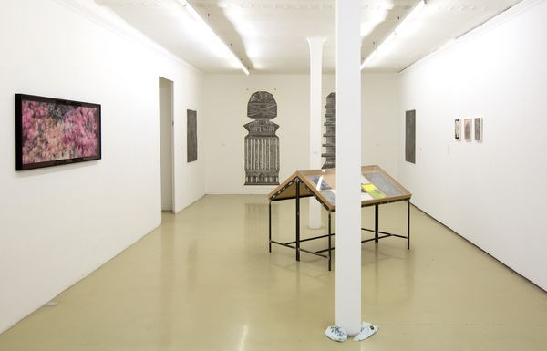 Exhibition view: Group Exhibition,Artists in Residence 2018, Krinzinger Projekte (10 April–18 May 2019). Courtesy Galerie Krinzinger.
