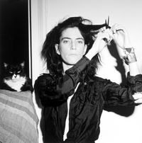 Patti Smith by Robert Mapplethorpe contemporary artwork photography