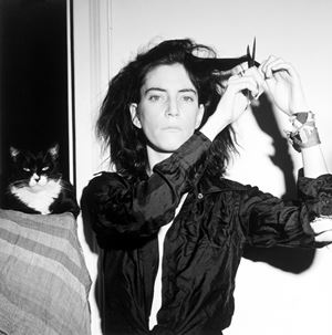 Patti Smith by Robert Mapplethorpe contemporary artwork