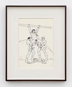 """Untitled (from """"Sex in the Shed"""") by Tom of Finland contemporary artwork"""