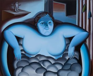 The Gazer; Ikarus by Jin Hee Kim contemporary artwork