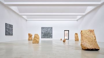 Contemporary art exhibition, Bosco Sodi, Yügen II at Axel Vervoordt Gallery, Antwerp