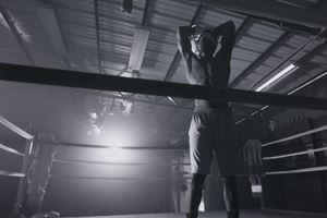 The Boxer by Jen DeNike contemporary artwork moving image