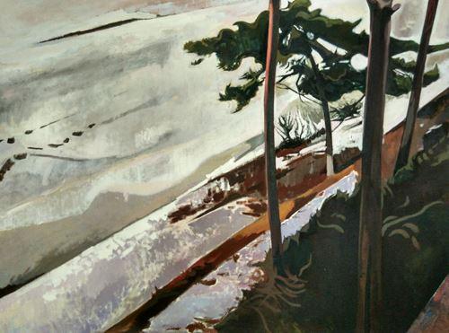 Roadside by Xiao Jiang contemporary artwork
