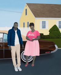 As American as apple pie by Amy Sherald contemporary artwork painting