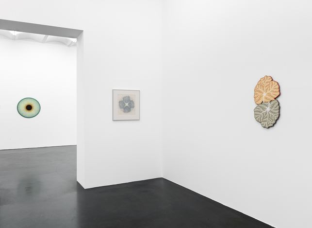 Exhibition view: Ulla Wiggen, Visualities, Galerie Buchholz, Cologne (24 January–4 April 2020). Courtesy Galerie Buchholz Berlin/Cologne/New York.