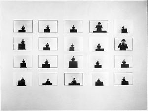 La conferenza by Michelangelo Pistoletto contemporary artwork