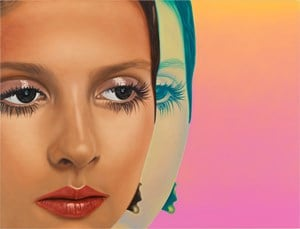 Ingrid II by Richard Phillips contemporary artwork