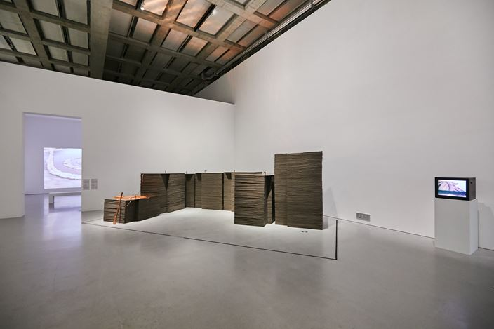 Exhibition view:The Shape of Time - Highlights of the Centre Pompidou Collection Vol. 1, West Bund x Centre Pompidou Shanghai (8 November 2019–9 May 2021). CourtesyWest Bund x Centre Pompidou Shanghai.