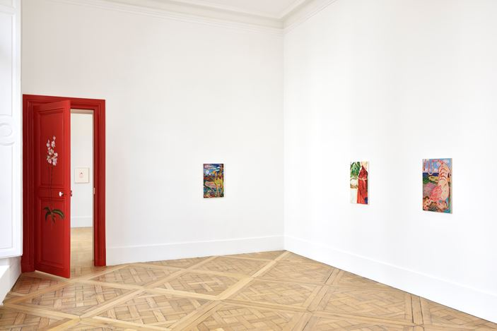 Exhibition view: Emily Sundblad, Promenade des Anglais, Campoli Presti, Paris (12 September–17 October 2020). Courtesy the artist and Campoli Presti. Photo: Rebecca Fanuele.