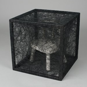 State of Being (Chair) by Chiharu Shiota contemporary artwork