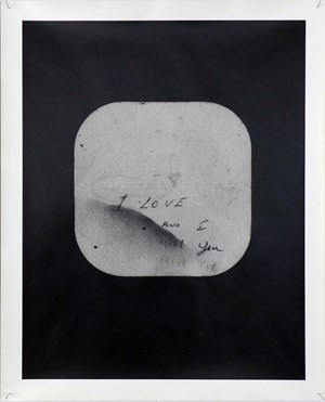 Coaster (from the Love Notes series) by Marie Shannon contemporary artwork