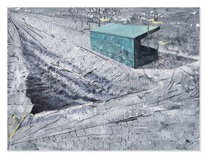 Grand Stand by Derek Cowie contemporary artwork