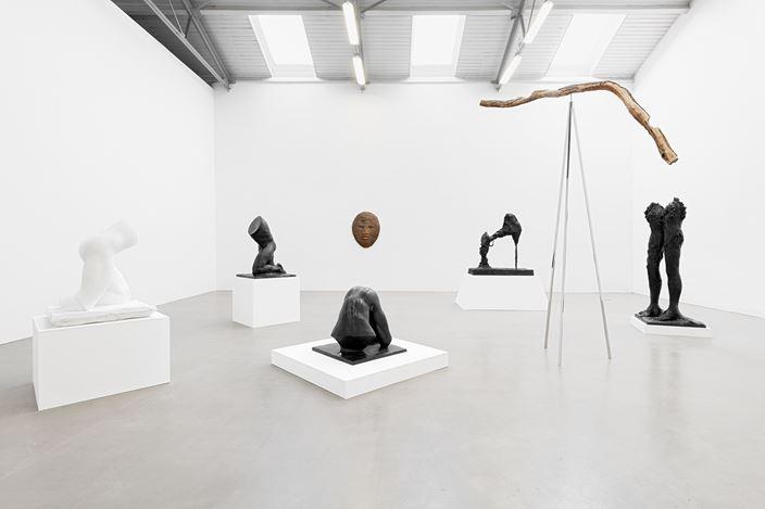 Exhibition view: Stella Hamberg, Jubiläum,Galerie EIGEN + ART, Leipzig (6 September–26 October 2019). Courtesy Galerie EIGEN + ART. Photo: Uwe Walter, Berlin.