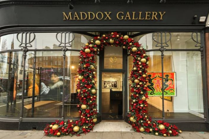 Exhibition view: Maddox Gallery | Five, Maddox Gallery, Westbourne Grove, London (16 December 2020–28 February 2021). Courtesy Maddox Gallery.