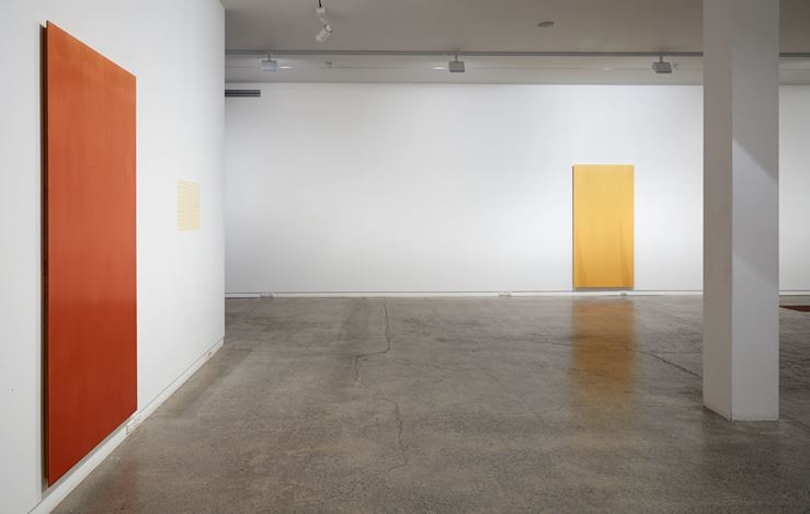 Exhibition view: Simon Morris, I watch the falling light, Two Rooms, Auckland (27 April–26 May 2018). Courtesy Two Rooms.