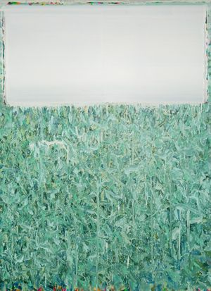 The white out of standard 2016-1 by Xue Feng contemporary artwork