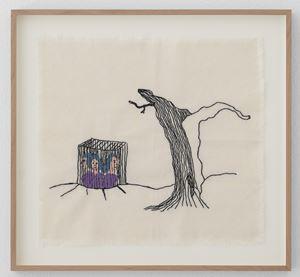 Emprisonnement by Patricia Dreyfus contemporary artwork