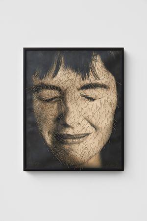 Ich überstochen [Myself punctured] by Annegret Soltau contemporary artwork