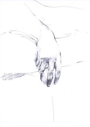 Untitled (La Jeunesse d'Aristote, hand with sphere) by Paul P. contemporary artwork