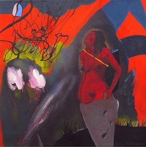 Geburt by David Lehmann contemporary artwork