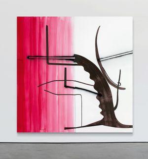 Untitled (Baum 44) by Albert Oehlen contemporary artwork