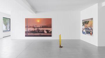 Contemporary art exhibition, Sayre Gomez, True Crime at Xavier Hufkens, Van Eyck, Brussels