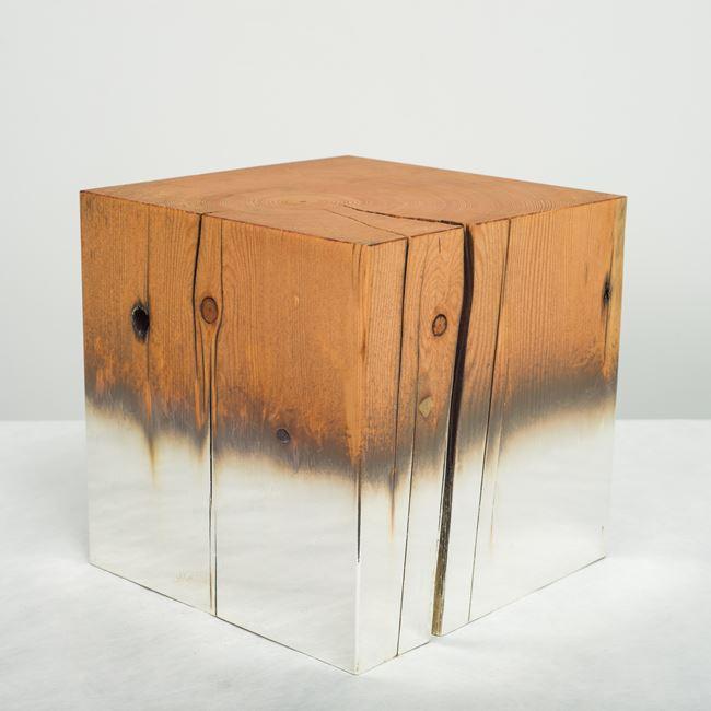 Silver Pine 1 by Miya Ando contemporary artwork