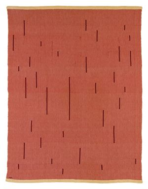 With Verticals by Anni Albers contemporary artwork