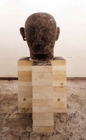 Untitled 3 - Sculpture by Gaston Damag contemporary artwork