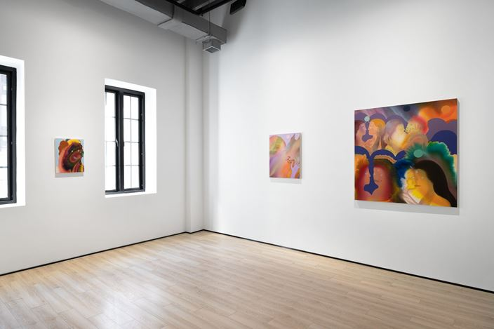 Exhibition view: Group Exhibition, Painting Someone, Almine Rech, Shanghai (6 November–26 December 2020). Courtesy the Artists and Almine Rech.
