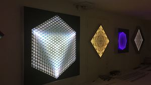 Cubic mirage by Bardula contemporary artwork