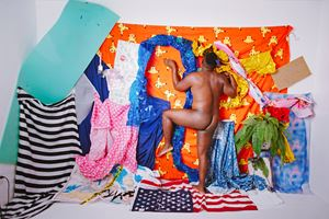 Queer negro composition #3 by Rakeem Cunningham contemporary artwork