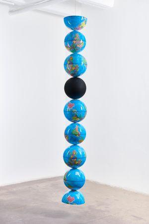 model for an endless column by Nolan Oswald Dennis contemporary artwork sculpture