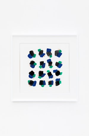 Gruppi di forme e colori in movimento (2) by Bruno Munari contemporary artwork