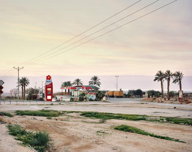 Petrol Station, The Judean Desert, QMWD by Yaakov Israel contemporary artwork