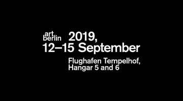 Contemporary art exhibition, Art Berlin 2019 at Esther Schipper, Berlin