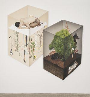 보이지않는 by Jinju Lee contemporary artwork