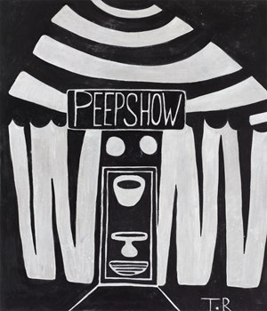 Peep show by Tal R contemporary artwork