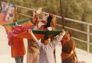 Theatre production at Kasauli Art Centre, India by Nilima Sheikh contemporary artwork photography