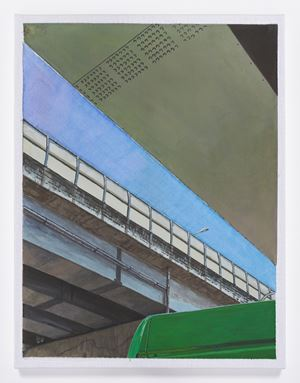 A Sky Seen Through an Overpass by Hyewon Kim contemporary artwork