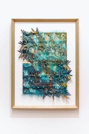 """""""A radiant summer so fierce it turns yellow"""" (Midsummer poem VII) by Jade Townsend contemporary artwork painting, works on paper, sculpture"""