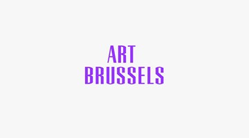Contemporary art exhibition, Art Brussels 2017 at Almine Rech, Brussels