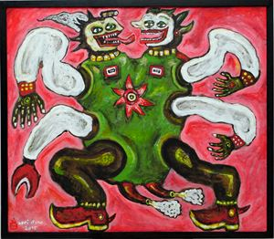 Oligarchy Creature by Heri Dono contemporary artwork